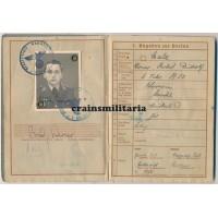 KG.z.b.V.1 Bordfunker Wehrpass - Holland 1940, Italy, Africa