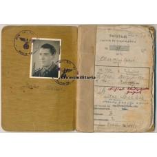 Greif Division EK1 Soldbuch & photo album
