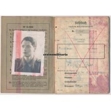 Hermann Göring Fallschirmjäger Soldbuch - Heiligenbeil KIA