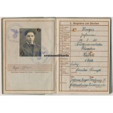 Hermann Göring Sicily WIA Wehrpass