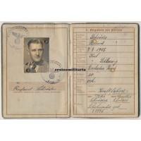 Wehrpass 58.ID driver