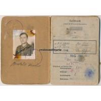 272.VGD Soldbuch Ardennes POW 1944