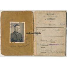 246.VGD Ardennes POW Soldbuch