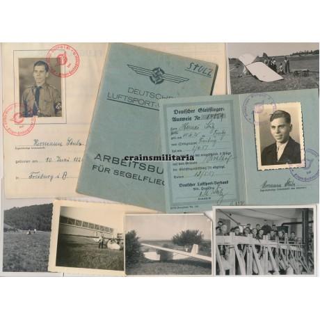 DLV Segelflieger Ausweis & photo group