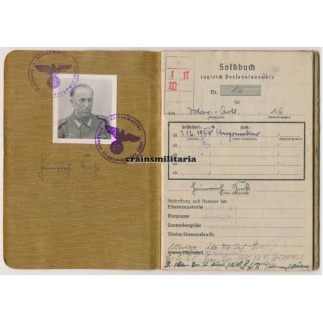 716.ID Soldbuch, France 1944