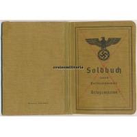 Soldbuch demoted Kriegsmarine soldier