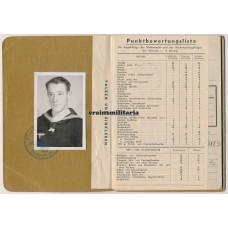 Soldbuch born in Denmark, Marineflak Brest