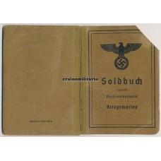 Kriegsmarine Soldbuch Minensucher