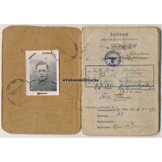 Raupenschlepper Ost Soldbuch Italy