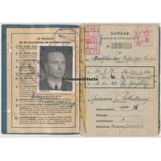 JG2 Richthofen Pilot / Engineer Soldbuch