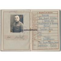 Wehrpass Heeresjustizinspektor officer, Poland