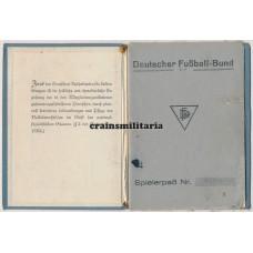 Deutscher Fussball-Bund Spielerpass