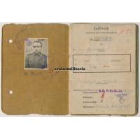 Soldbuch 71.ID Pionier Italy 1944
