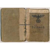 Ardennes POW Soldbuch 5. Panzerarmee pioneer
