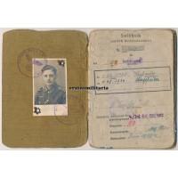 Stalingrad WIA Soldbuch HuD, Italy 1944