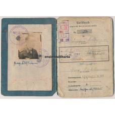 Holland 1945 WIA Fallschirmjäger Soldbuch