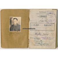 Gebirgsjäger Soldbuch GJR.100, Monte Cassino WIA