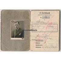 SS Polizei KIA Soldbuch Russia 1941, Holland training