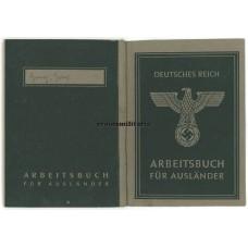 Arbeitsbuch für Ausländer Polish boy