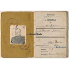 Soldbuch Gesteinbohr-Kompanie, psychiatrical problems