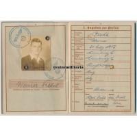 France 1940 KIA Wehrpass 82.ID