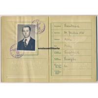 Arbeitsbuch für Ausländer French worker