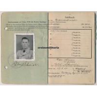 SS Polizei Gebirgsjäger KIA Soldbuch Yugoslavia 1944