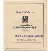 DRK Mitgliedskarte, Bingen
