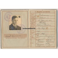 267.ID KIA Wehrpass, France 1940 POW 26.ID