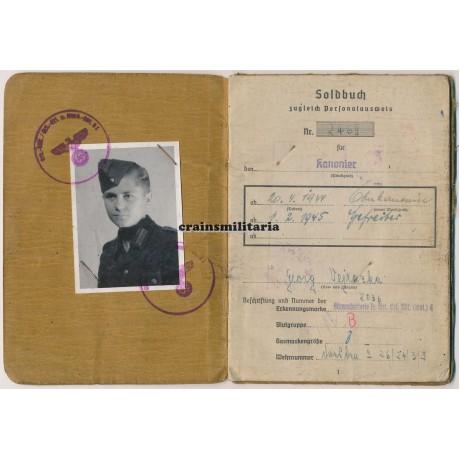 367.ID Soldbuch - Festung Königsberg POW
