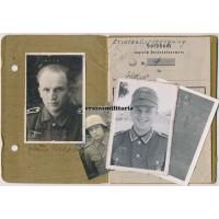 19.ID Soldbuch Belgium 1940