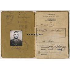 Soldbuch 251.ID Belgium 1940, France 1944