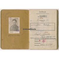 320.ID Soldbuch, WIA 1945