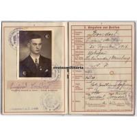 France 1940 KIA Wehrpass 3.Pz.Div.