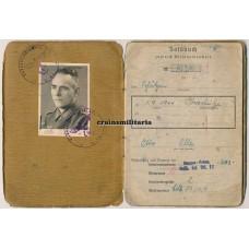 Aachen POW Soldbuch 49.ID, Belgium 1944