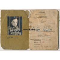 306.ID Soldbuch, WIA Mius 1943