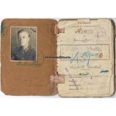 Soldbuch 297.ID, 181.ID, Yugoslavia WIA