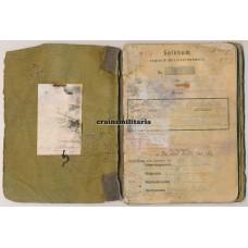 197.ID Soldbuch WIA France 1940