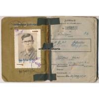 Normandy POW Soldbuch 77.ID