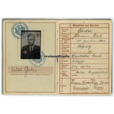 France 1940 WIA Wehrpass 93.ID