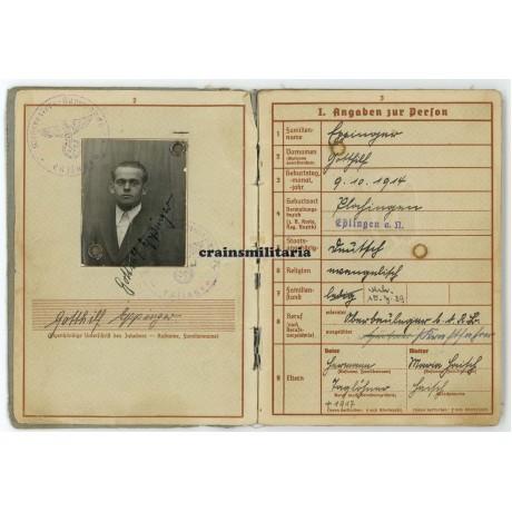 98.ID Wehrpass, Kubanschild