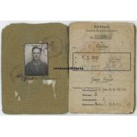 EKI Soldbuch grouping 122.ID, Kurland Nahkampftage