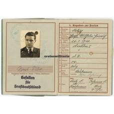 56.ID KIA Wehrpass Russia 1942