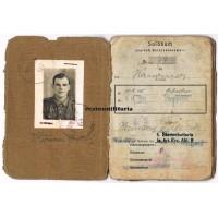 Italy Soldbuch 356.ID, Anzio, WIA