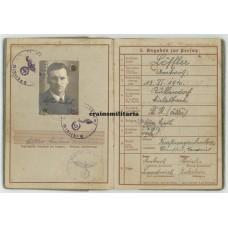Eisenbahnpionier Wehrpass, Auschwitz 1939
