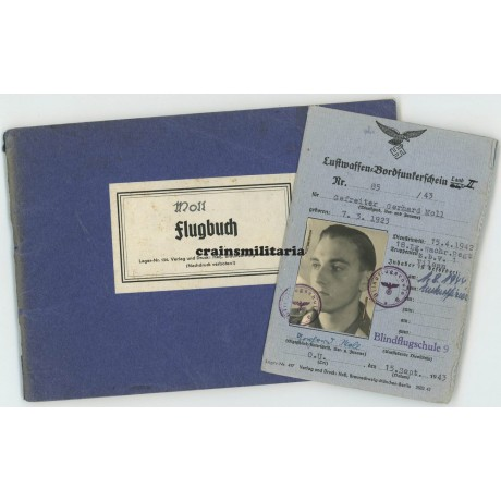 "Flugbuch grouping Fernaufklärer, Me 410 ""Hornisse"""