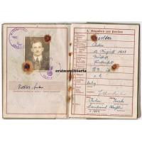 268.ID Wehrpass and award docs