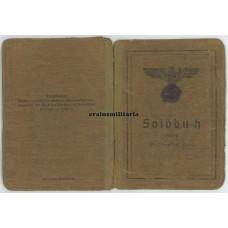 Postwar issued Soldbuch to POW