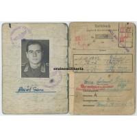 NJG4 Nachtjagd Soldbuch - WIA France 1944