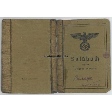 35.ID Soldbuch POW Russia 1944